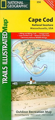 National Geographic Trails Illustrated Map Cape Cod National Seashore By National Geographic Maps